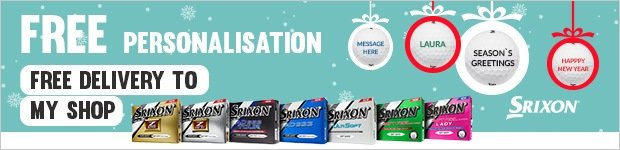 Free Personalisation on Srixons, from £22.99