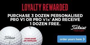 Titleist Loyalty Rewarded - Save £44.99